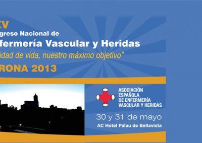 XXV Congreso Nacional de Enfermería Vascular Girona 2013