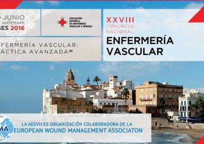 XXVIII Congreso Nacional de Enfermería Vascular Sitges 2016