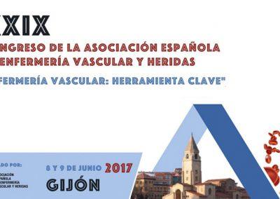 XXIX Congreso Nacional de Enfermería Vascular Gijón 2017