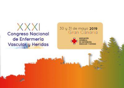 XXXI Congreso Nacional de Enfermería Vascular Canarias 2019